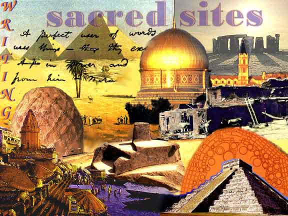 Writing Sacred Sites montage